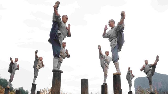Luyện tập Kung Fu đem lại một sự cân bằng tuyệt vời cho cơ thể