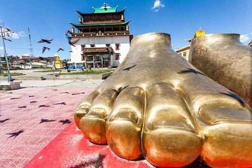 Gandan Khiid là tu viện lâu đời nhất tại Mông Cổ