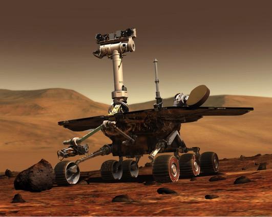 Hiện nay, con người chỉ mới đưa được máy do thám lên sao Hỏa