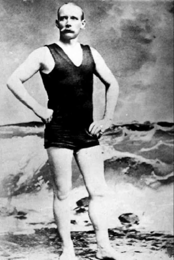 Matthew Webb, người đầu tiên bơi qua eo biển Manche
