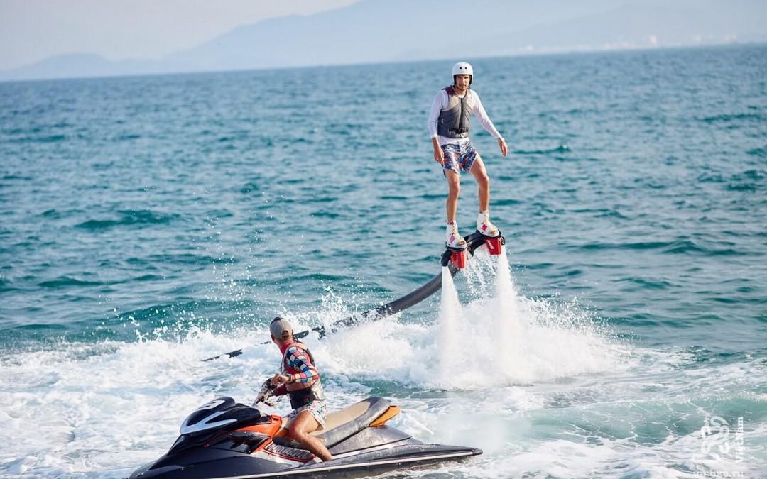 Flyboard – môn thể thao mạo hiểm mới ở Nha Trang