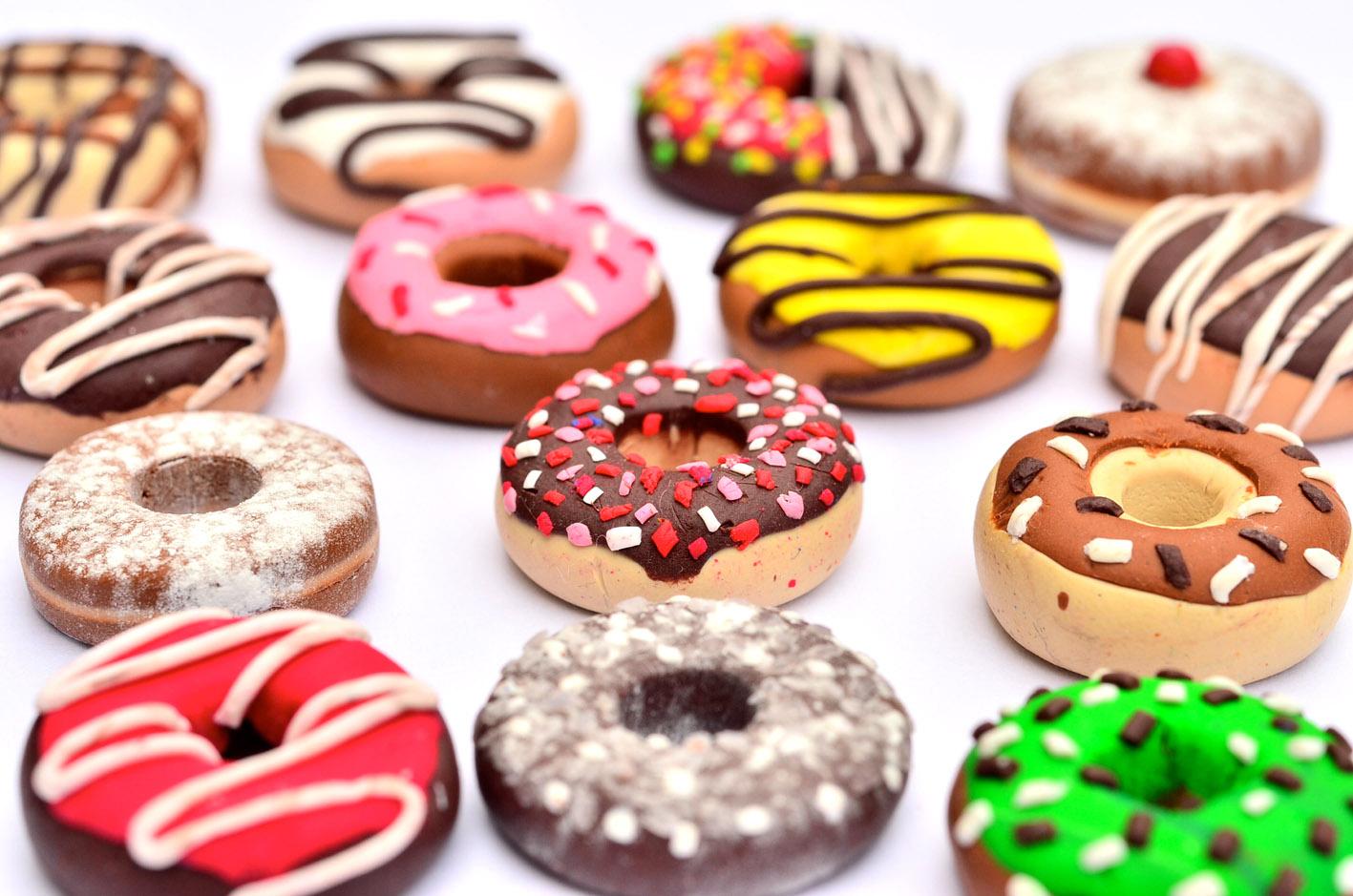 Mỗi chiếc bánh của Dunkin' Donuts mang một hương vị, một nét đặc trưng riêng