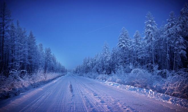 Đôi khi băng tuyết đông phủ dày đặc làm ảnh hưởng đến giao thông đi lại