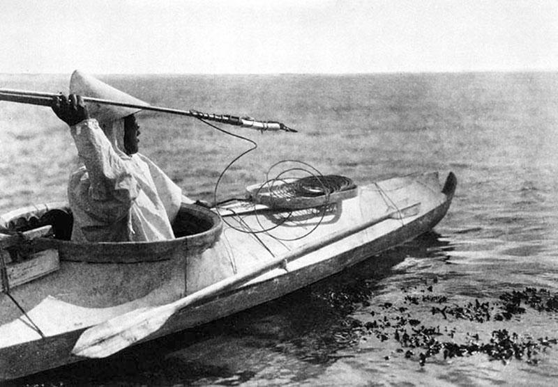 Những chiếc Kayak đầu tiên của người Eskimo