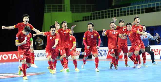 Giấc mơ World Cup đã thành sự thật cho Futsal Việt Nam – Ảnh: Internet