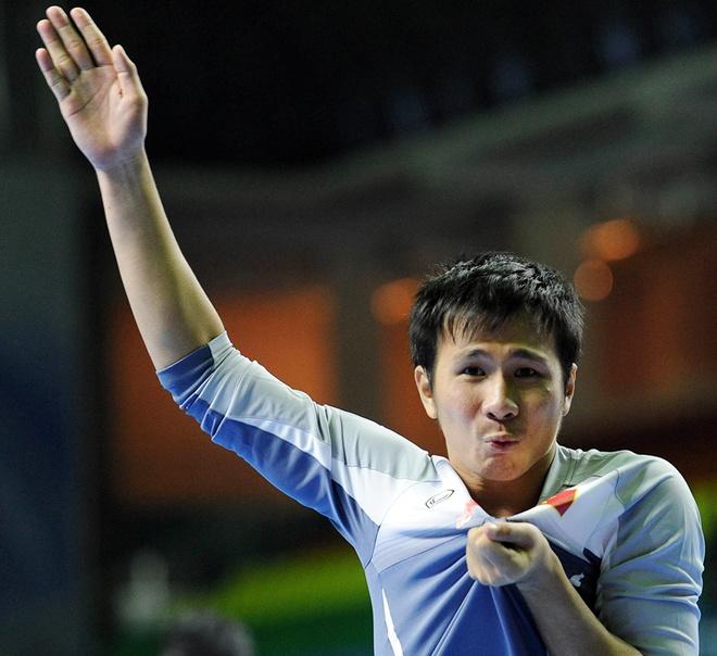 """Thủ môn Ý Hoà được đưa vào sân để bắt loạt sút luân lưu, còn trước đó Văn Huy – được mệnh danh là """"người nhện"""" – trấn giữ khung thành ở các hiệp thi đấu chính phụ. – Ảnh: Internet"""