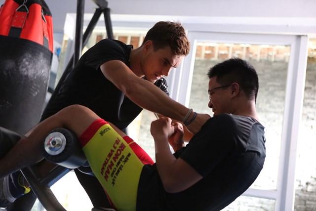 Tháng 9 tới, Paul sẽ thử thách mình tại giải IronMan Triathlon