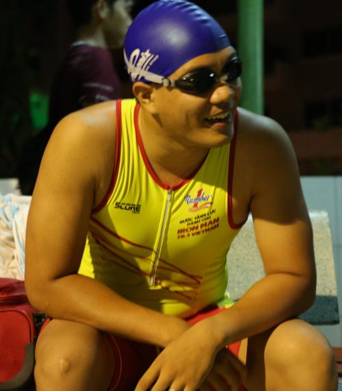 Ngô Quang Thảo sẵn sàng cho thử thách 1,9km bơi biển
