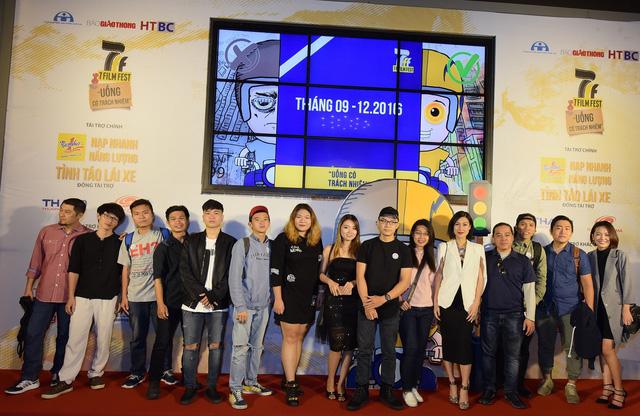 Ban Giám khảo và các thí sinh 7 Film Fest 2016