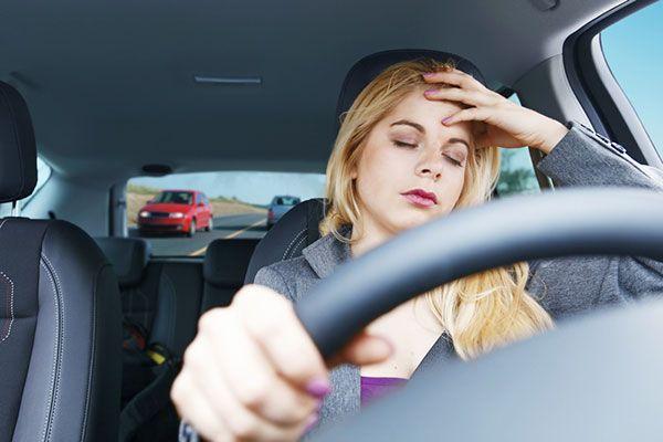 Cách chống buồn ngủ khi lái xe