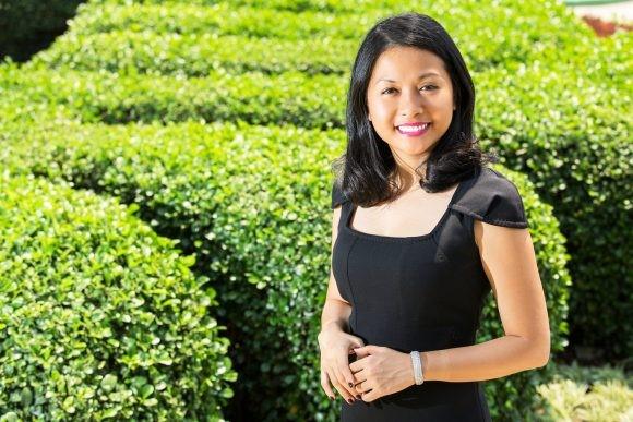 Bà Trần Uyên Phương, phó tổng giám đốc THP.