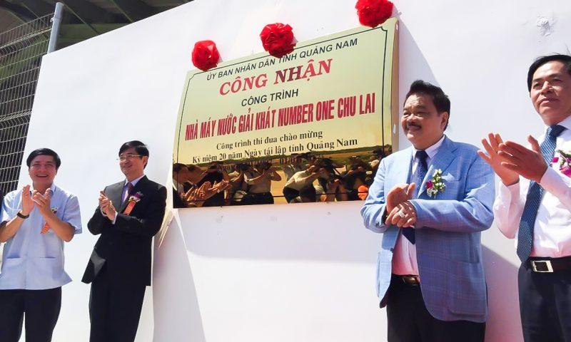 Khánh thành nhà máy Number One tại Chu Lai