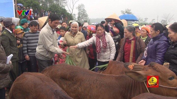 Tiếp thêm nghị lực thoát nghèo cho một gia đình ở Quảng Bình