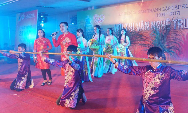 Kết quả Hội thi văn nghệ kỉ niệm 23 ngày thành lập tập đoàn Tân Hiệp Phát