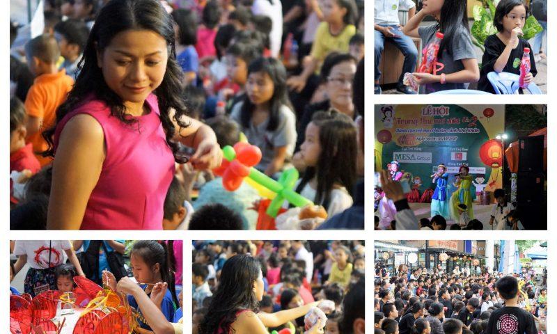Tân Hiệp Phát trao hàng ngàn suất quà cho trẻ em nhân dịp Tết Trung thu