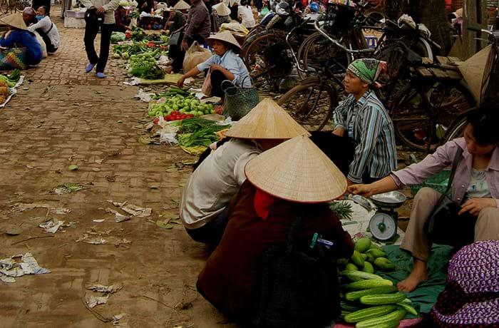Ma thuật thương mại ở chợ làng