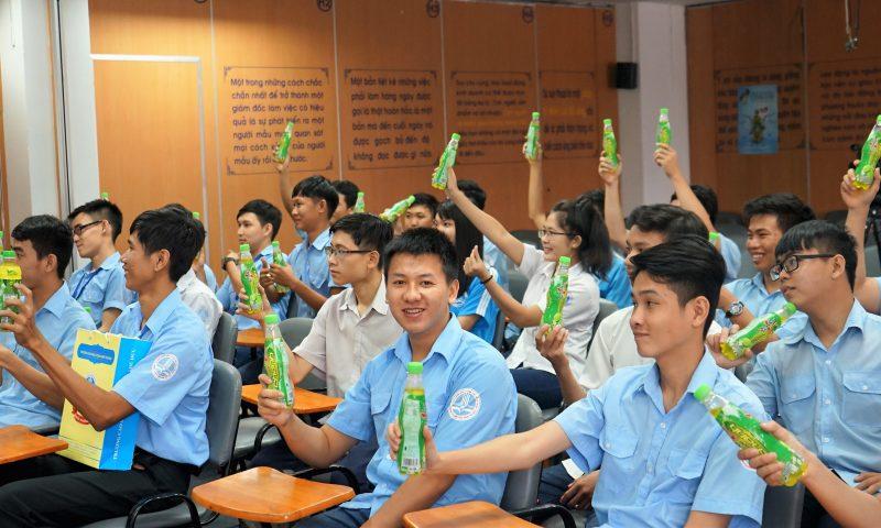 Sinh viên ấn tượng trước quy trình tuyển dụng của Tân Hiệp Phát