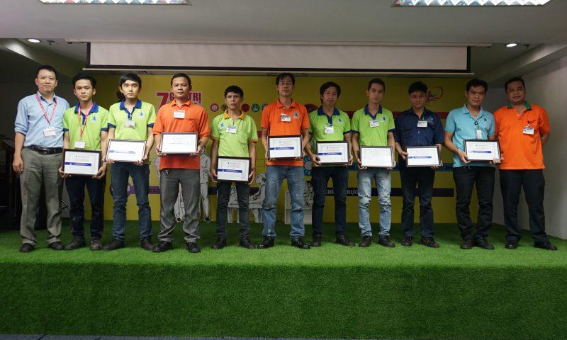 Tân Hiệp Phát trao thưởng cho nhân viên xuất sắc tháng 11/2017