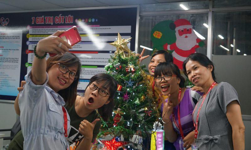 Nhà Tân Hiệp Phát tràn ngập không khí Giáng Sinh