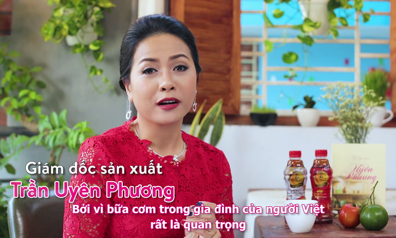 """Trần Uyên Phương: """"Tôi mong ước mọi gia đình luôn quây quần bên bữa cơm"""""""