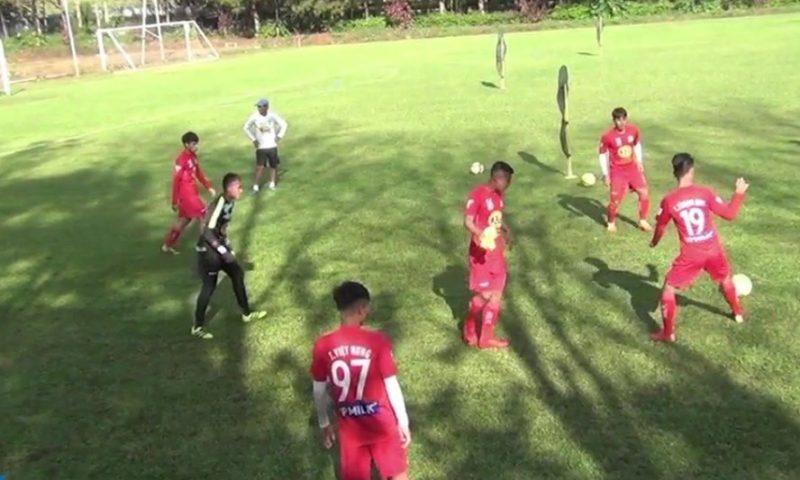 Đội bóng Hoàng Anh Gia Lai thi đấu tại giải BTV – Cúp Number 1