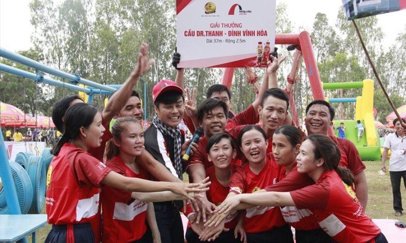 Tân Hiệp Phát tiếp tục xây cầu làm quà Tết cho người dân xứ lụa Tân Châu