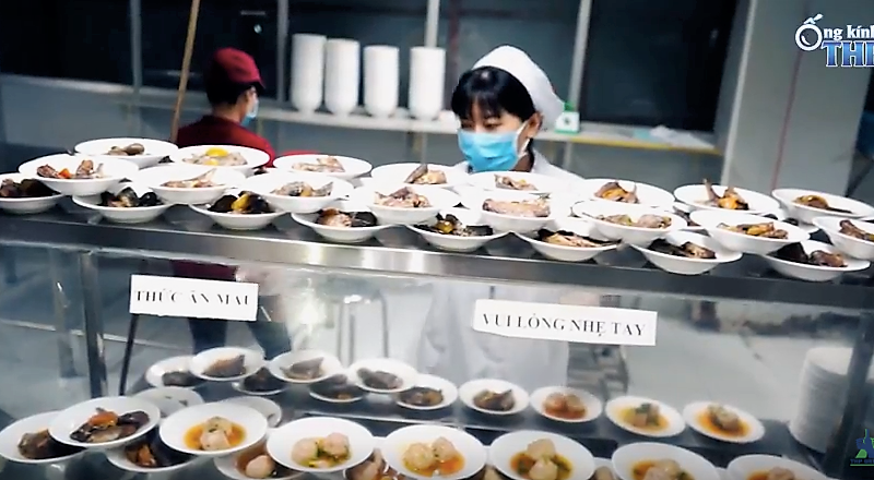 Ống kính THP   Bữa cơm trưa ấm cúng của gia đình Tân Hiệp Phát