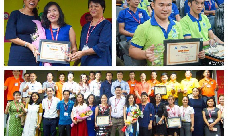 Bản tin THP: Lễ tuyên dương Nhân viên xuất sắc năm 2017