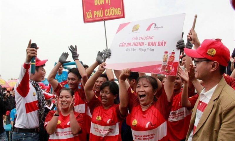Tân Hiệp Phát tiếp tục khởi công cầu thép dây văng tại Cai Lậy- Tiền Giang