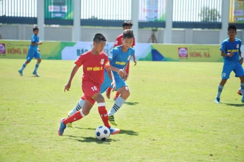 Tân Hiệp Phát đồng hành cùng giải bóng đá Thiếu niên toàn quốc 2018