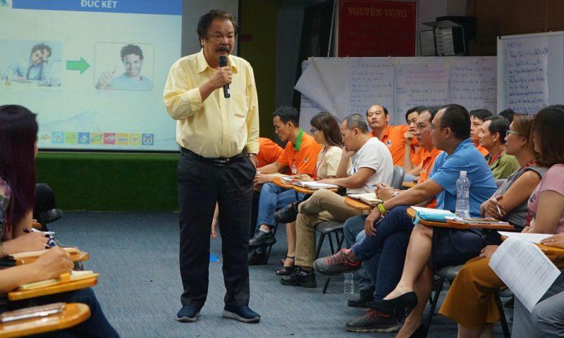 Tổng giám đốc Trần Quí Thanh chia sẻ bí quyết xử lý khi công việc quá tải