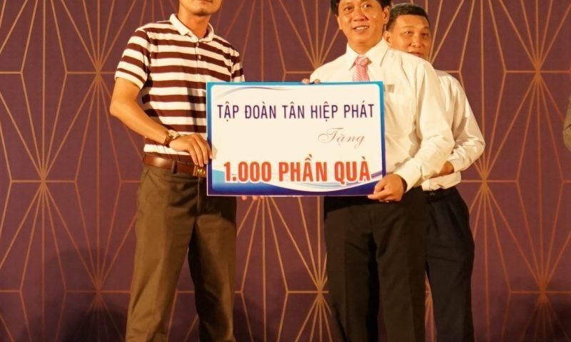 Tân Hiệp Phát trao 1000 phần quà Trung thu cho thiếu nhi tỉnh Bình Dương