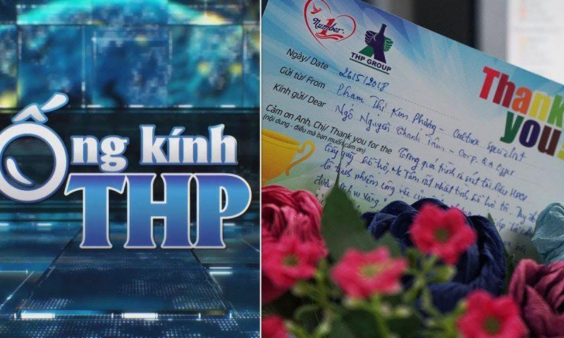 Ống kính THP: 'Thank You Note' tại Tân Hiệp Phát