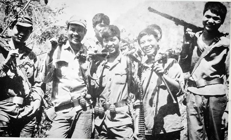 Xúc động những bức ảnh giữa chiến trường biên giới 1979