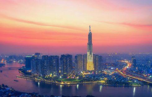 Khoảnh khắc Sài Gòn lung linh nhìn từ trên cao