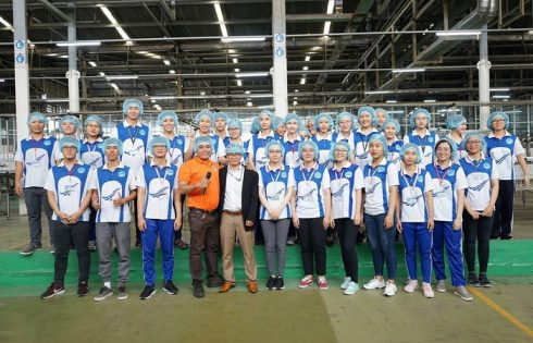 Tân Hiệp Phát liên tiếp đón các đoàn sinh viên trong và ngoài nước tham quan nhà máy dịp đầu năm 2019