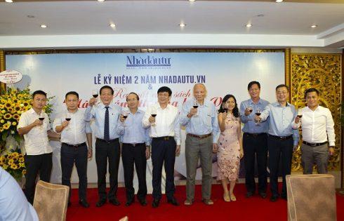 Kỷ niệm 2 năm Nhadautu.vn và ra mắt sách Nâng cánh thương hiệu Việt