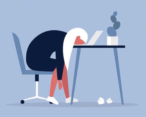 Hội chứng 'Burnout': 'sức tàn lực kiệt' ở chỗ làm