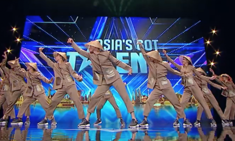 Đại diện Việt Nam gây bất ngờ tại Asia's Got Talent 2019 với điệu nhảy nông dân
