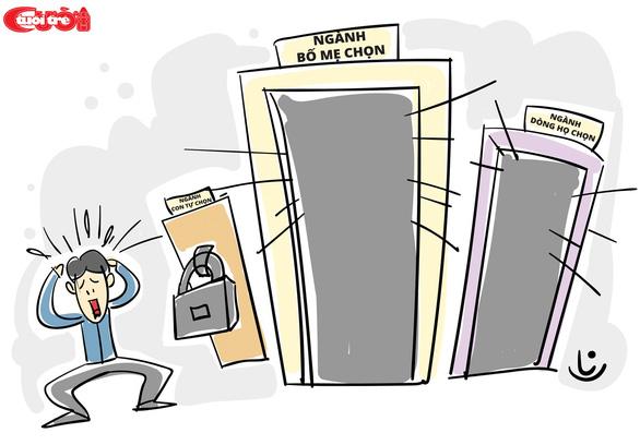 Biếm họa: chọn ngành hay để ngành chọn mình?