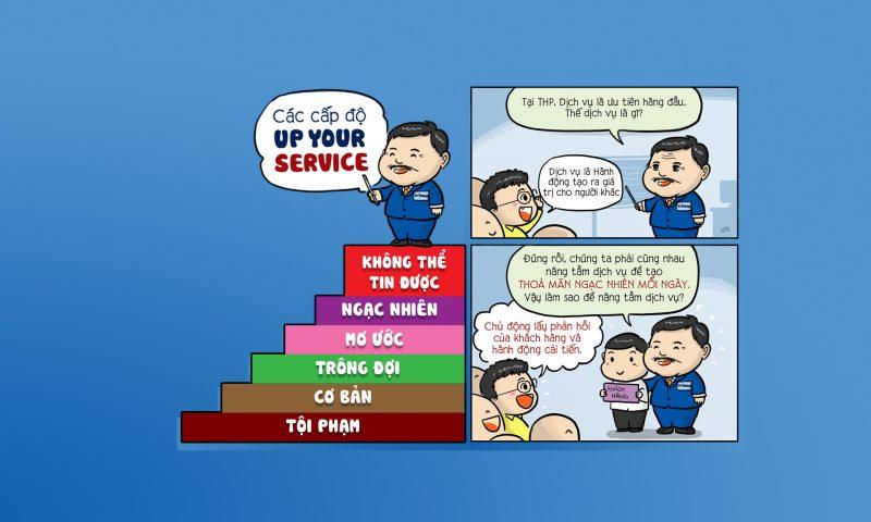 Các cấp độ dịch vụ của UP! Your Service