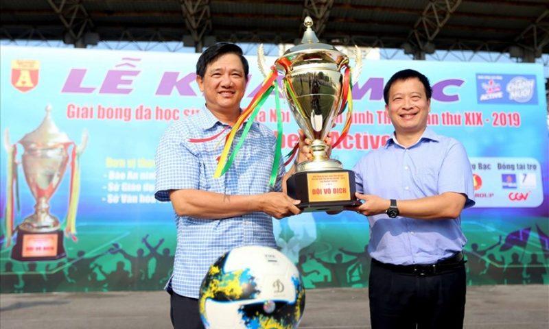 Khai mạc giải bóng đá học sinh THPT Báo An ninh Thủ đô lần thứ 19 Cúp Number 1 Active