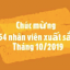 Nhân viên xuất sắc – Tháng 10/2019 tại Tân Hiệp Phát