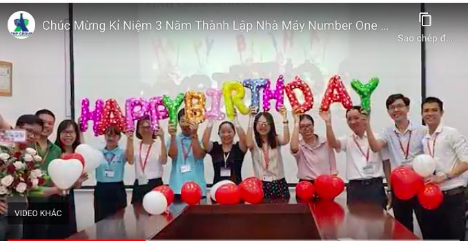 Chúc mừng Kỷ niệm 3 năm thành lập Nhà máy Number One Chu Lai