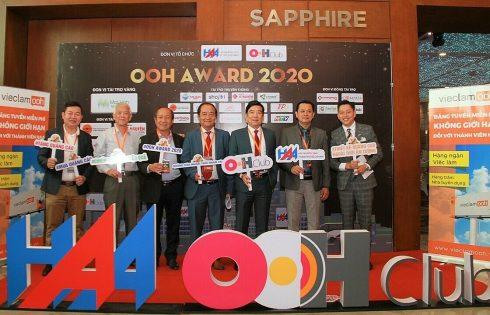THP vào top 10 Giải thưởng OOH Award 2020