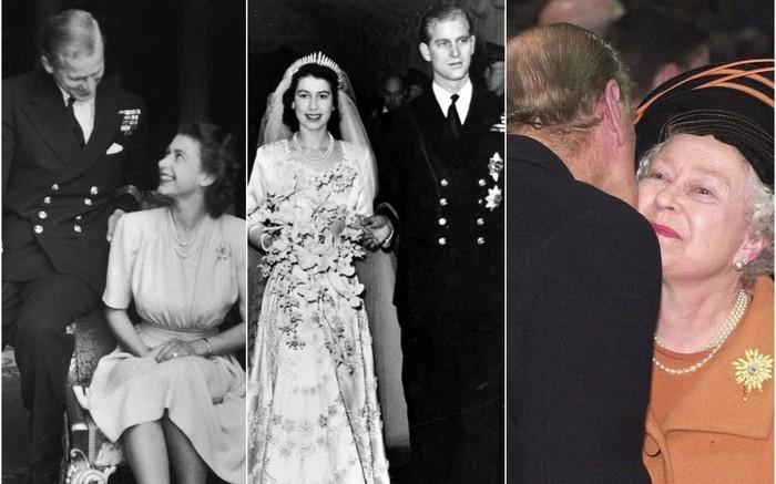 Những khoảnh khắc hạnh phúc trong 74 năm chung sống của Nữ hoàng Anh Elizabeth II và Hoàng thân Philip