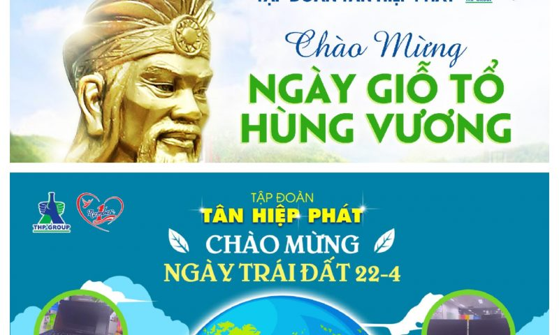 Tân Hiệp Phát với Giỗ tổ Hùng Vương & Ngày trái đất