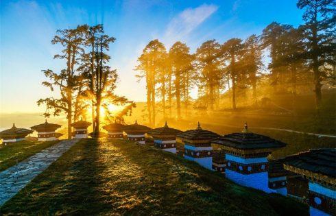 """Ngắm """"xứ sở cổ tích"""" Bhutan lung linh giữa đời thường"""