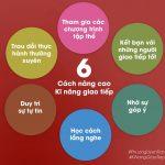 6 cách nâng cao kỹ năng giao tiếp